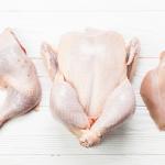Raw Chicken parts